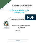 Enfoques y Técnicas Para Desarrollar Habilidades Emprendedoras y Creativas.