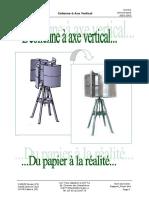 Rapport Projet Olienne Axe Vertical 2002 2003