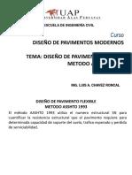 08 Diseño de Pavimentos Flexibles Metodo Asshto 93