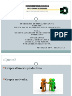 Grupos Productivos y Motivados 1