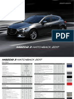 Ficha Tecnica Mazda3 Hatchback 2017