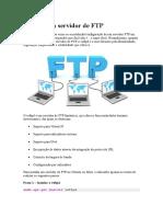 Instalar Um Servidor de FTP