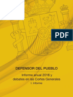 EXTRACTO - Informe Anual 2016 - Defensor del Pueblo (Pags 592 y 593)
