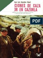 Narraciones de Caza Mayor en CA - Juan Luis Gonzalez-Ripoll