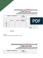 Formato Plan e Informe Con Indicadores 2016 - 2017 Tenango Febrero