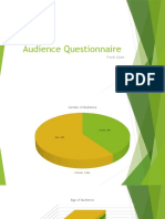 Audience Questionnaire Research
