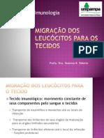 Migração Dos Leucócitos Para o Tecido
