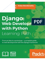 Django Web Development With Python 1787121380 SAMPLE