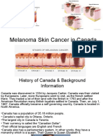 melanoma skin cancer in canada ppt