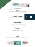 Actividad de Aprendizaje Semana No. 1 La Vinculación del Cliente vs Información Requerida.pdf