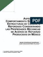 Aceros Ref Mexico Rodriguez