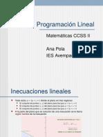 04 Programación Lineal