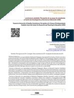 Hacia Una Universidad de Convivencia Saludable. Percepción de Un Grupo de Estudiantes de Bachillerato Del Centro de Investigación y Docencia en Educación (CIDE)