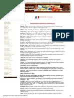 Livro de Receitas - Cozinha Internacional - Francesa - Principais Termos Culinários Da Cozinha Francesa