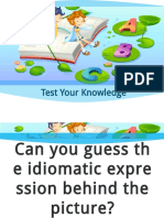 Idioms Picture Guess