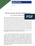 Wall Street Scandals