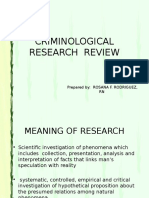 Review on Research