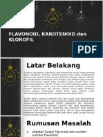 Flavonoid, Karotenoid Dan Klorofil