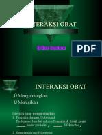 Interaksi Obat 2010 Akhir