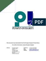 Pipeline Defect Assessment Manual
