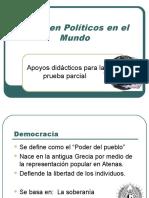 Régimen Políticos en El Mundo