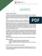 bases y condiciones modelo poder legislativo 2017