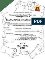 Visita a La Uni Lima - ENSAYO DE MATERIALES
