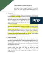 Model Perilaku Organisasi PT Prudential Life Assurance Revisi