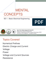 1 - Fundamental Concepts (Slides)