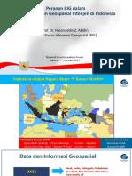 Peranan Big Dalam Pengembangan Geospasial Intelijen Di Indonesia