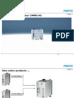 Motor Controllers for Servo Motors CMMD-As