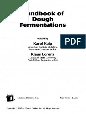 173766424 Handbook Of Dough Fermentation Pdf Sourdough