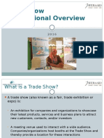 SIF Trade Show Informational Overview
