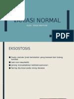 Variasi Normal Oral Medicine
