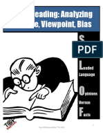 Close Reading Nonfiction Texts Identifying Purpose Viewpoint Bias