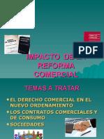 IMPACTO de LA REFORMA en El Derecho Comercial Dra Hilda Z ZÃrate