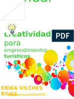 Manual de Creatividad de Emprendimientos Turisticos