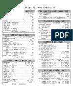 b738 Checklist