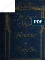 (1916) Historic Styles in Furniture