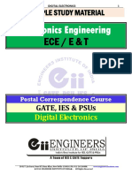 Digital Electronics notes 4 isro