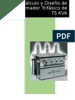 Informe-diseño Del Transformador de 75kva