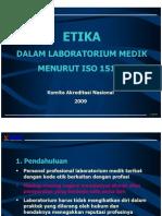 Etika laboratorium medik