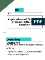 Module 2E- Application of First-Order DE .ppt
