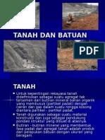 Tanah Dan Batuan