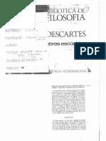 Descartes - Discurso Del Metodo (1)