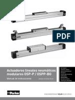 Actuadores lineales neumáticos