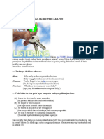 Tips Listening TOEFL