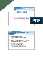 Proyectos y Servicios en el Área de Producción Lechera y RRCC
