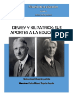 Ensayo Dewey y Kilpatrick