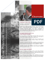 Close Protection Training Brochure-2